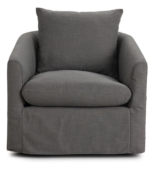 Willow Gray Fabric Swivel Chair (3)