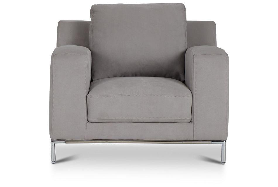 Wynn Light Gray Micro Chair