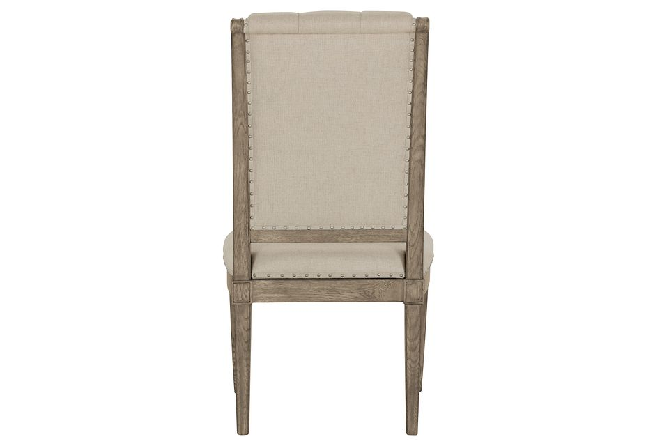 Marquesa Beige Upholstered Side Chair