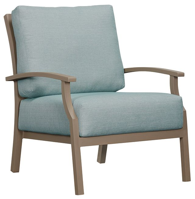 Raleigh Teal Aluminum Chair (0)
