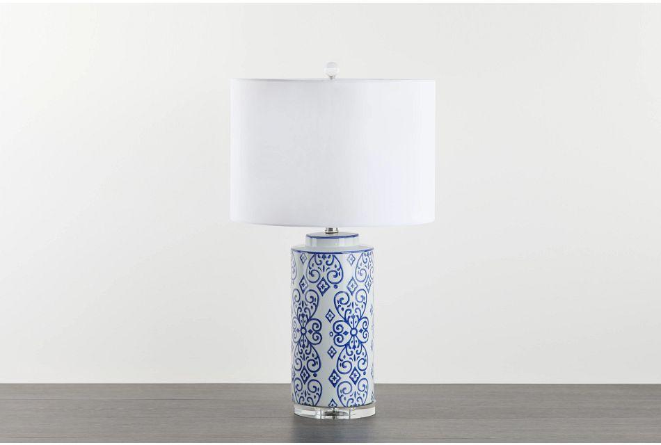 Carisa Blue Table Lamp