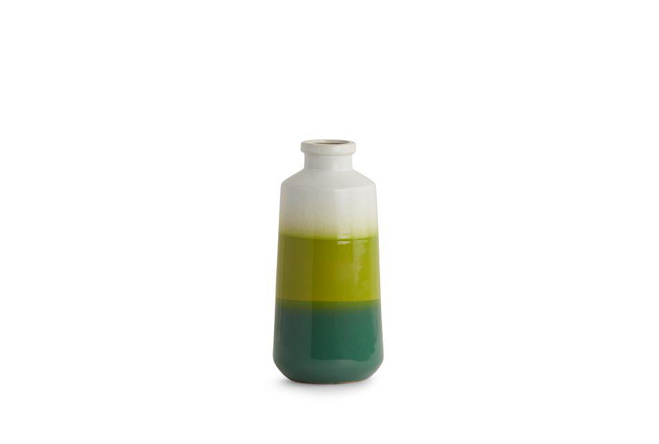 Davie Green Vase