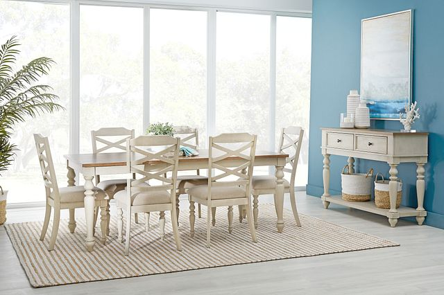 Lexington Two-tone Rect Dining Room (1)