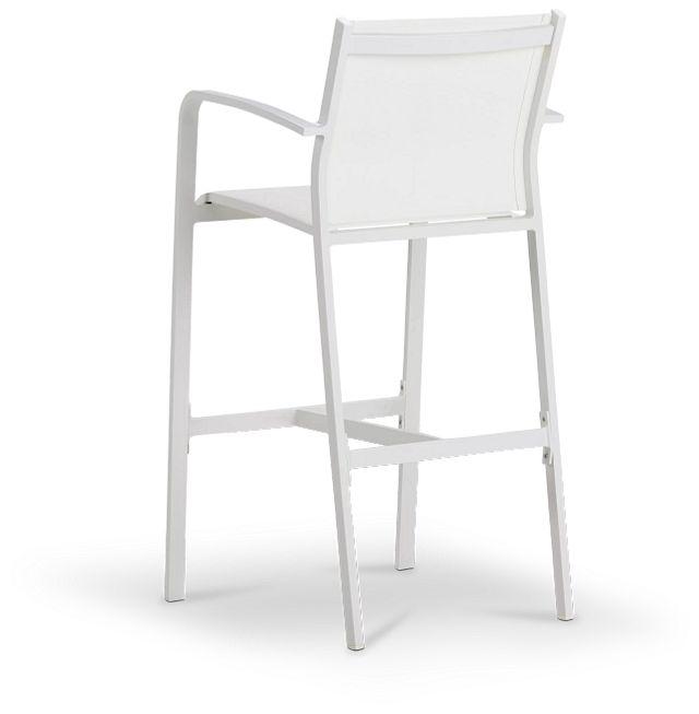"""Lisbon White 30"""" Barstool"""