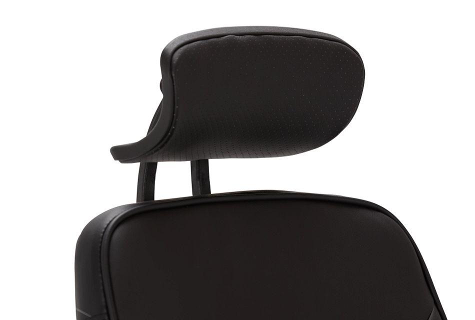 Aurora Black Uph Desk Chair