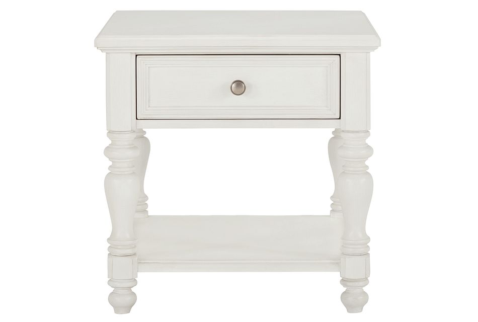 Savannah Ivory End Table