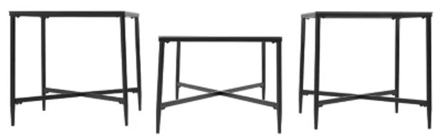 Augeron Glass 3 Pack Tables (3)