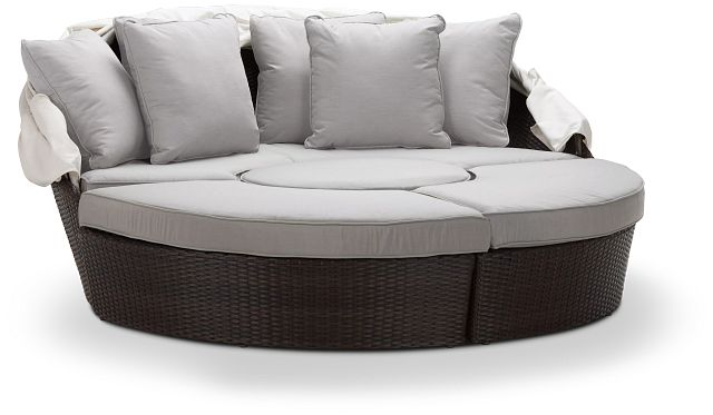 Fina Gray Canopy Daybed (0)