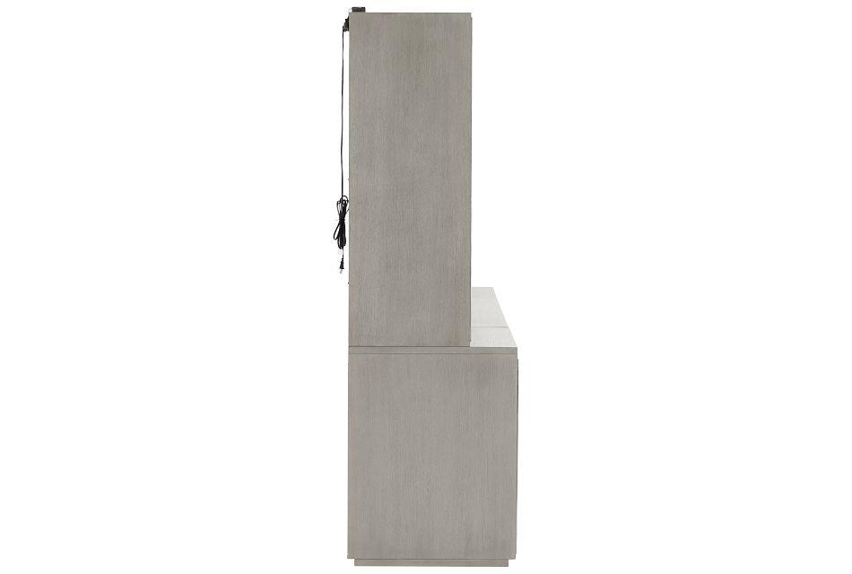 Highline Gray Door Entertainment Wall