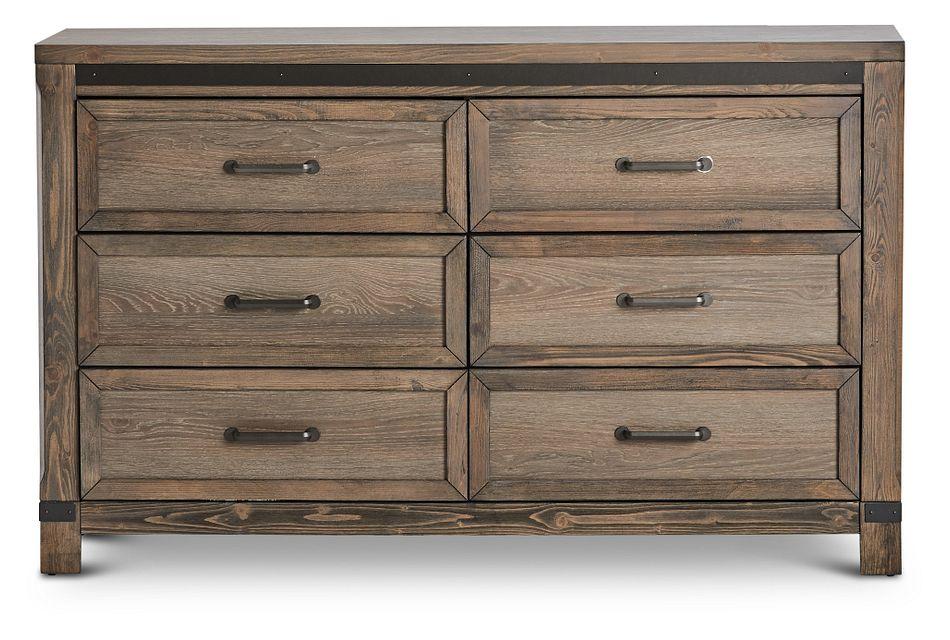 Lancaster Mid Tone Wood Dresser