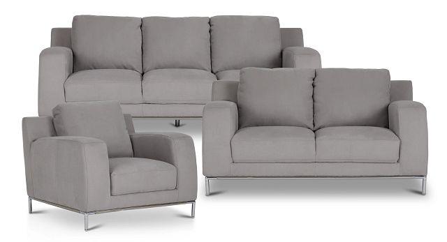 Wynn Light Gray Micro Living Room (0)