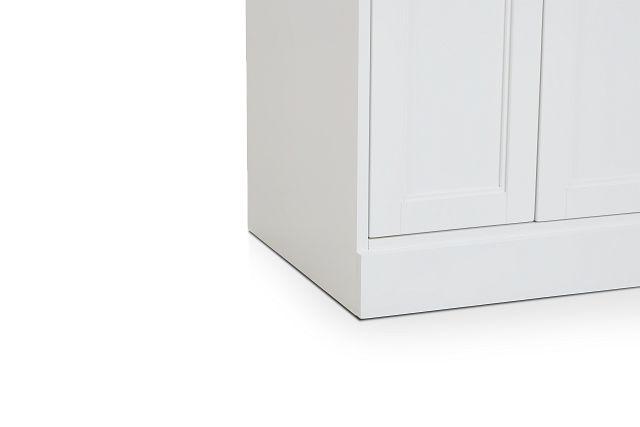 Newport White Door Cabinet