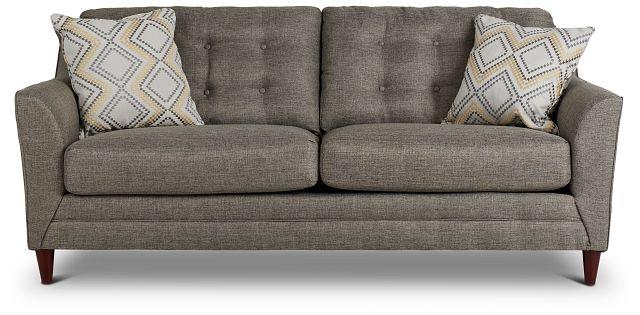 Jensen Dark Gray Fabric Sofa (1)