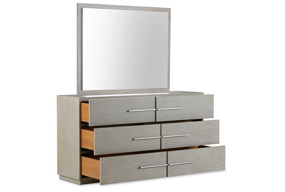 Destination Light Tone Dresser & Mirror
