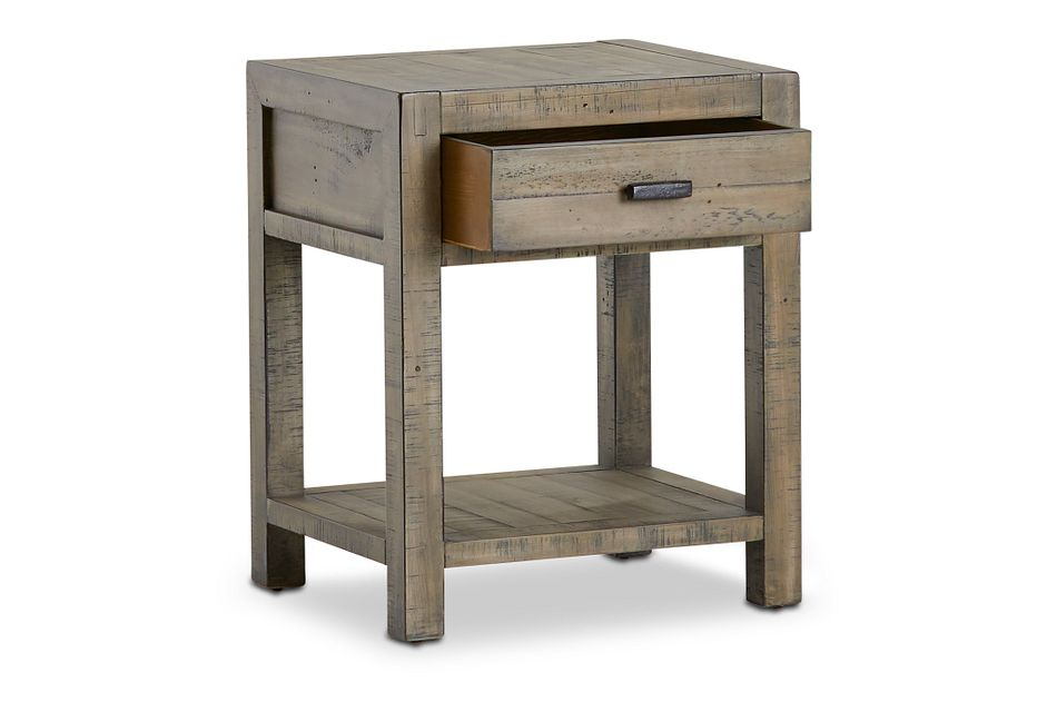 Seattle Gray End Table