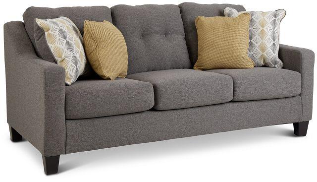 Daylon Light Gray Micro Sofa (2)