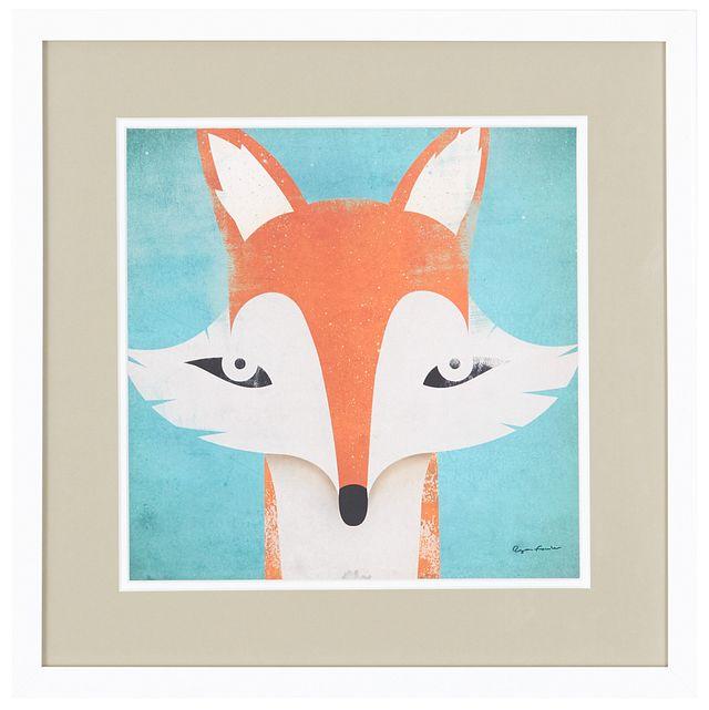 Fox Orange Framed Wall Art (0)