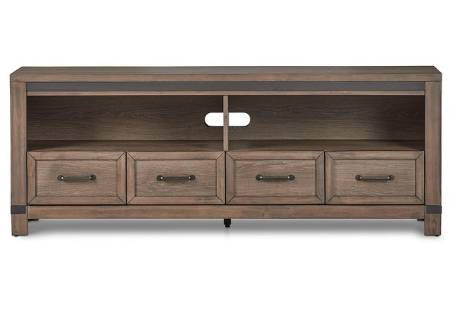 """Lancaster Mid Tone 72"""" Tv Stand"""