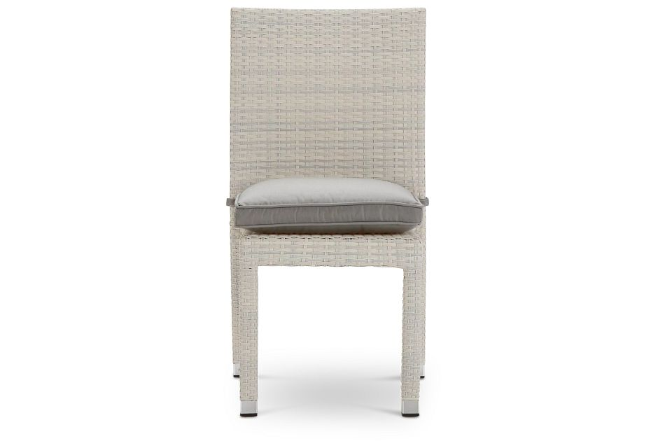Bahia Gray Side Chair,  (2)