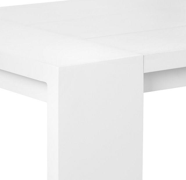 """Linear White 110"""" Rectangular Table (3)"""