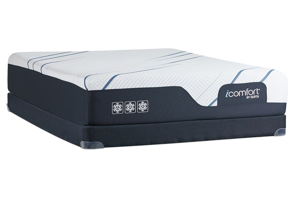 Serta Icomfort Cf3000 Plush Low-profile Mattress Set