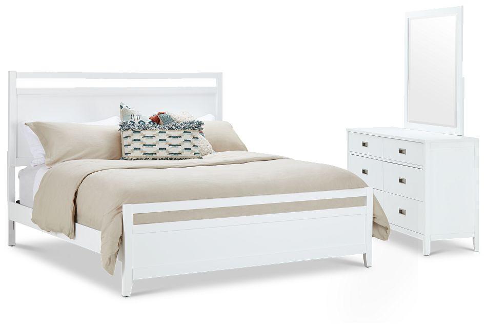 Chatham White Panel Bedroom