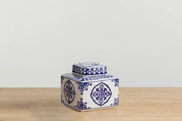 Dirk Dark Blue Small Jar (0)