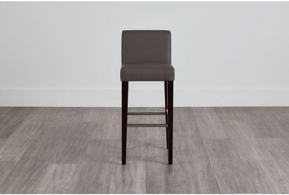 """Cane Graymicro 30"""" Upholstered Barstool,  (0)"""