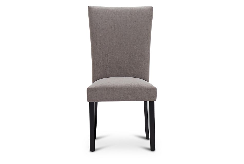 Auburn Dark Gray Fabric Upholstered Side Chair, %%bed_Size%% (3)
