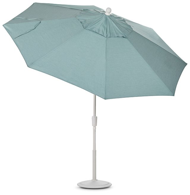 Capri Teal Umbrella Set