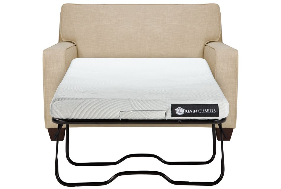 York Beige Cool Mfoam Memory Foam Sleeper