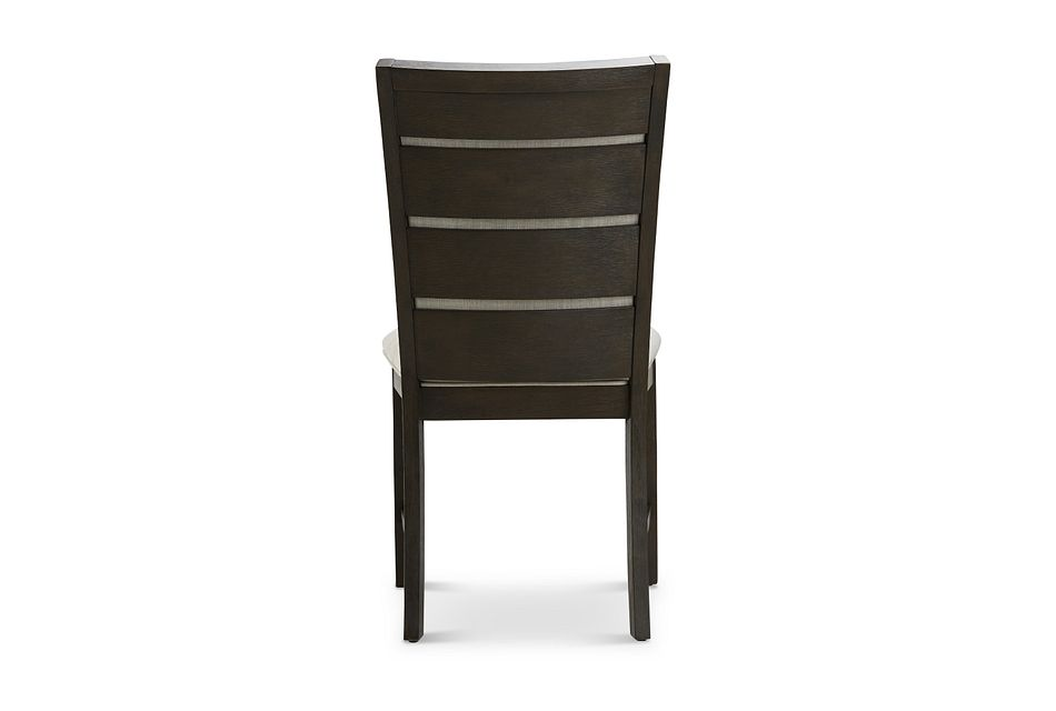 Grady Dark Tone  Slat Side Chair