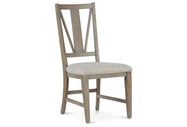 Heron Cove Light Tone Upholstered Side Chair