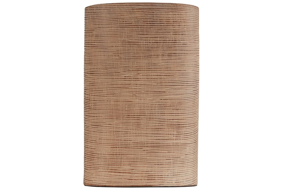 Elsa Light Brown Vase