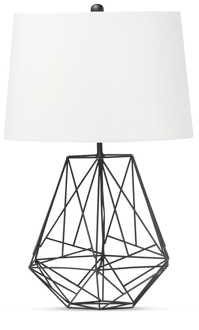 Cage Black Table Lamp (0)