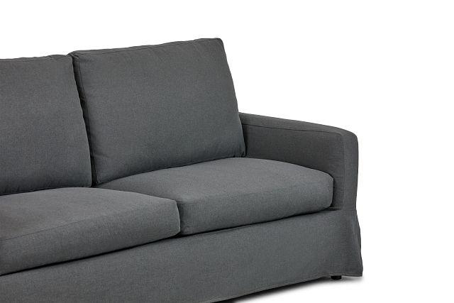 Bree Gray Fabric Sofa (2)