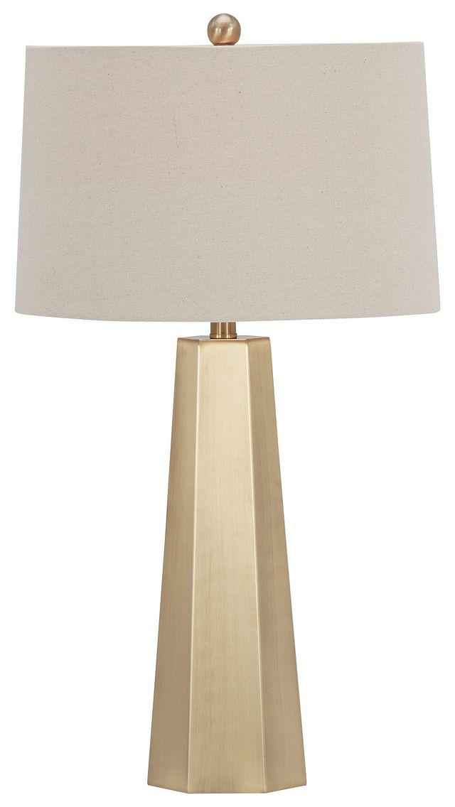 Marsham Light Beige Table Lamp