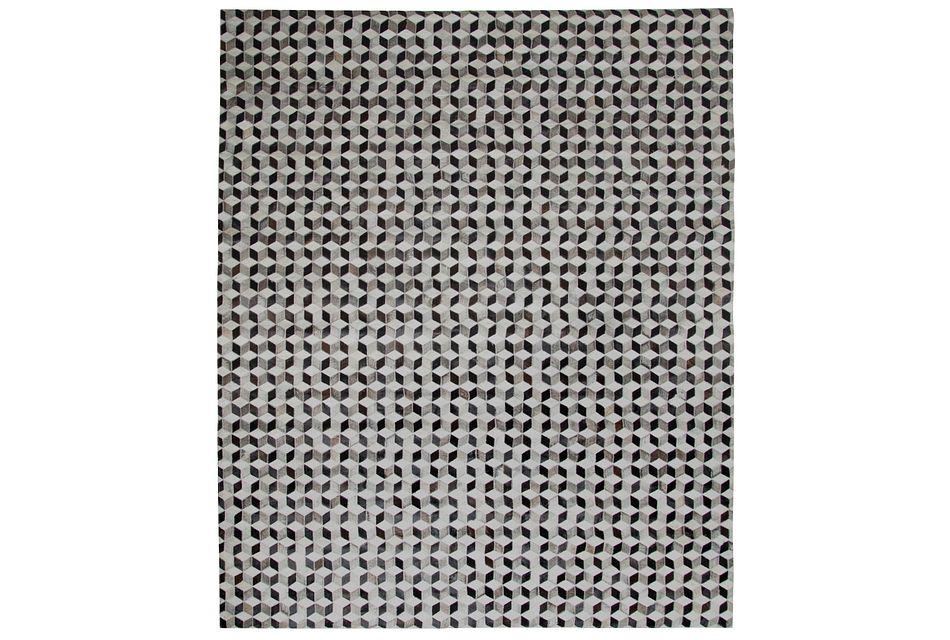 Gaston Gray 8x10 Area Rug