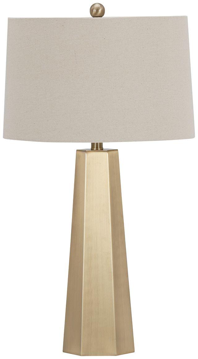 Marsham Light Beige Table Lamp (2)