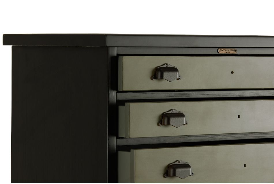 Library Two-tone Accent Chest