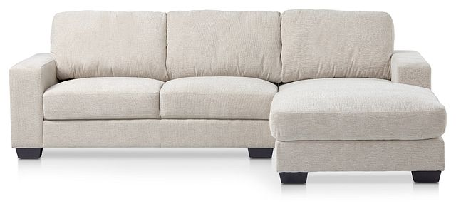 Estelle Beige Fabric Right Chaise Sectional (3)
