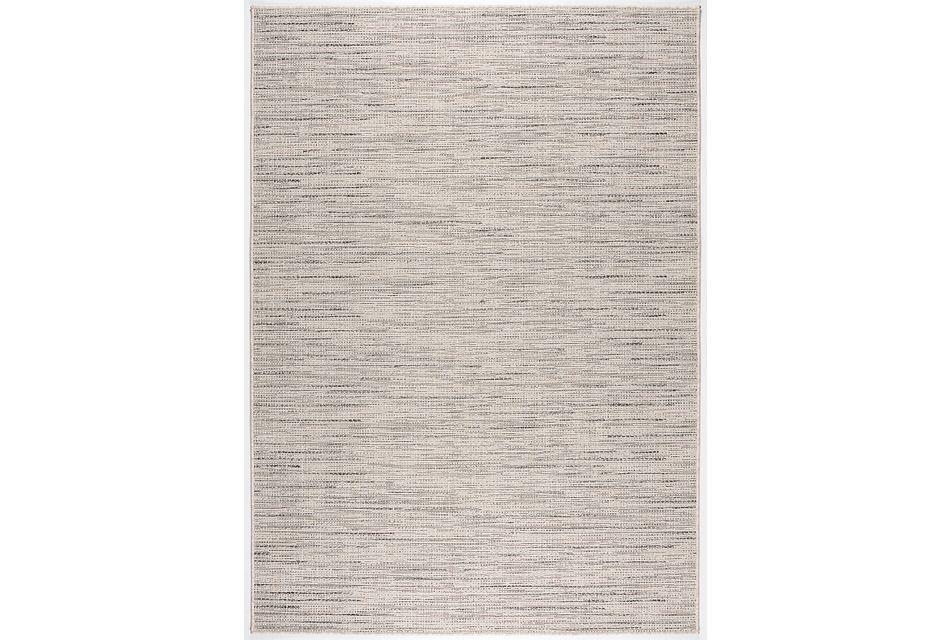 Rustica Gray Indoor/outdoor 8x11 Area Rug