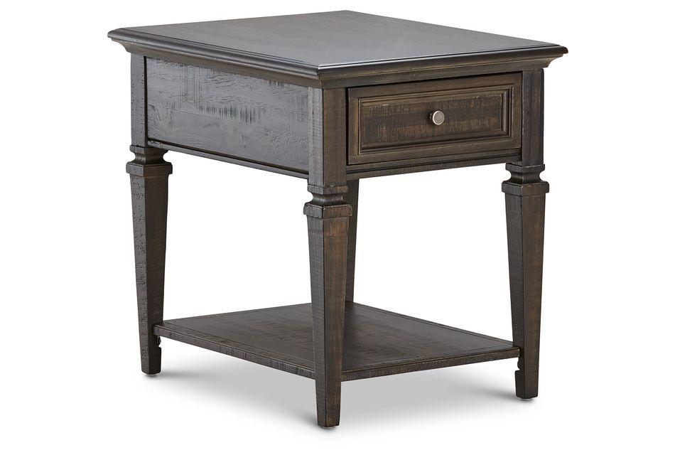 Sonoma Dark Tone Rectangular End Table