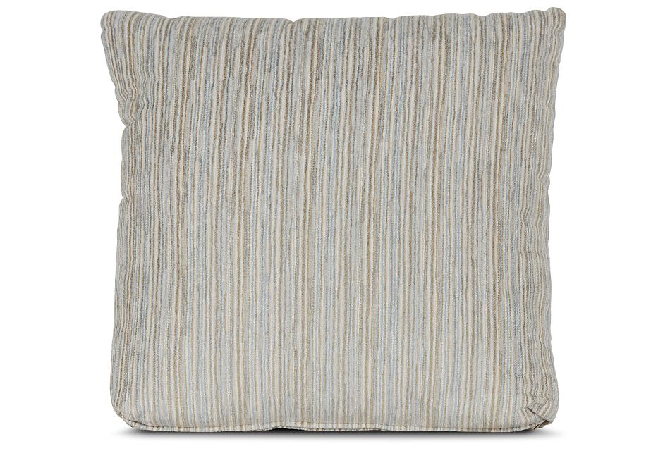 "Cinna Light Blue 18"" Square Accent Pillow"