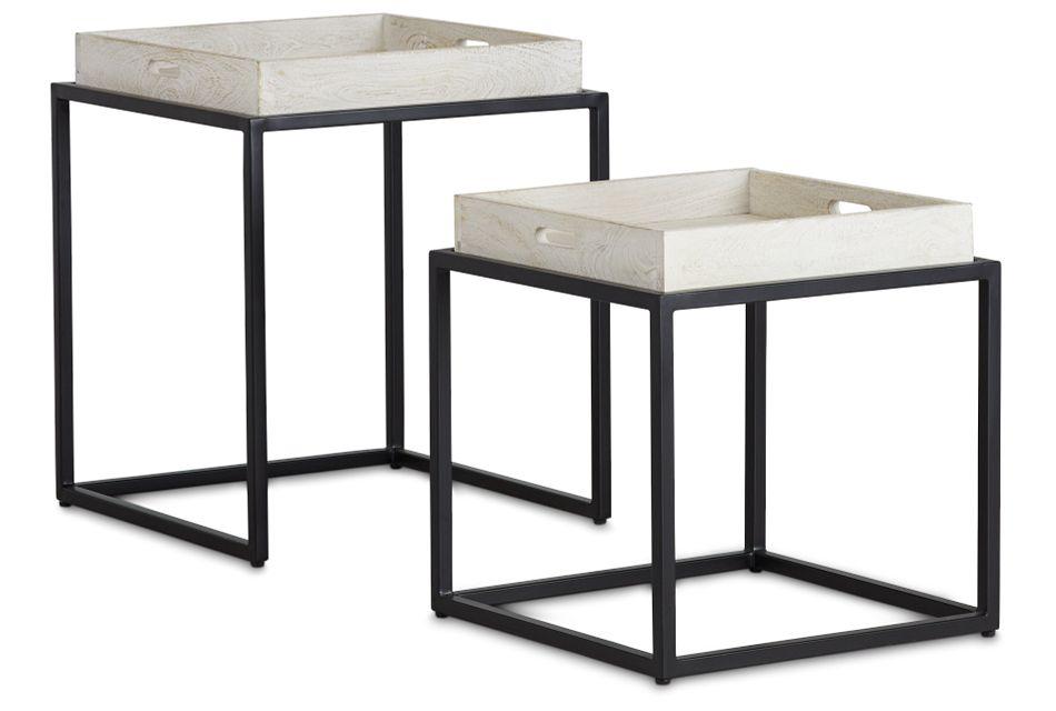 Bodi Light Tone Set Of 2 Nesting Tables