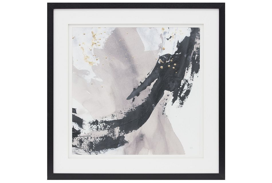 Dakota2 Black Framed Wall Art