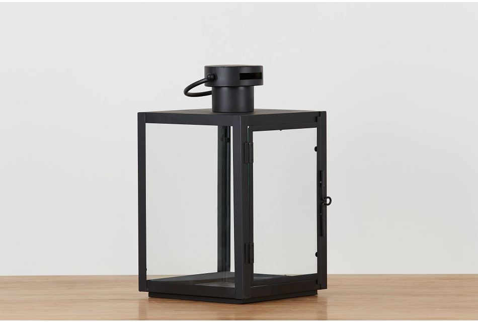 Madison Black Medium Lantern