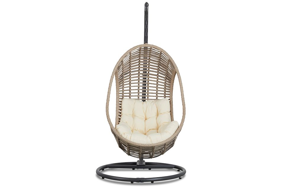 Cali Light Beige Hanging Chair