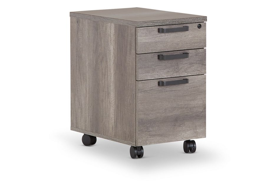 Milton Gray File Cabinet, %%bed_Size%% (2)