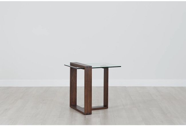 Bristow Glass End Table